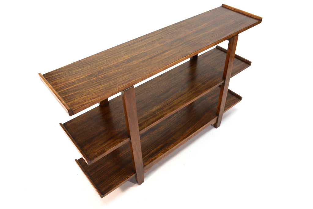Drexel Perspective Mahogany Shelf by Milo Baughman