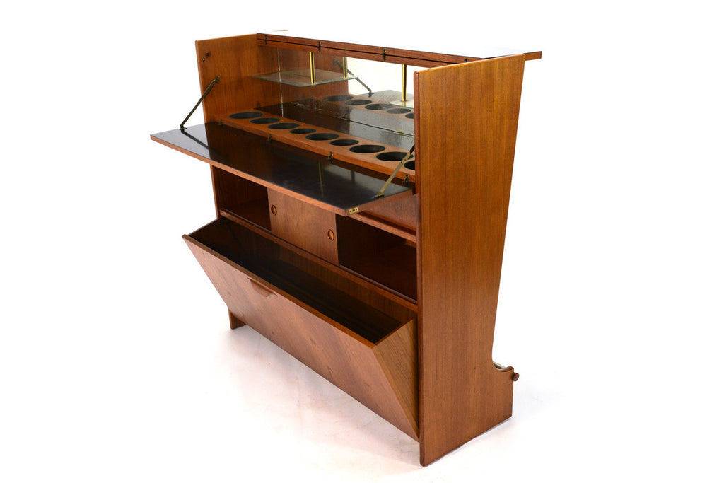 Danish Teak Dry Bar by Johannes Andersen
