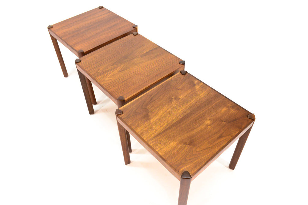 Set of Three Hans Olsen Stacking Tables