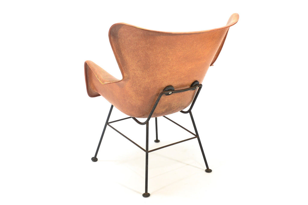 Fiberglass Shell Chair by Lawrence Peabody for Selig