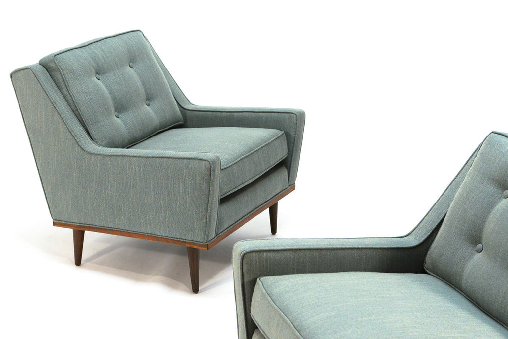 Pair of Milo Baughman 'Articulate Seating' Lounge Chairs