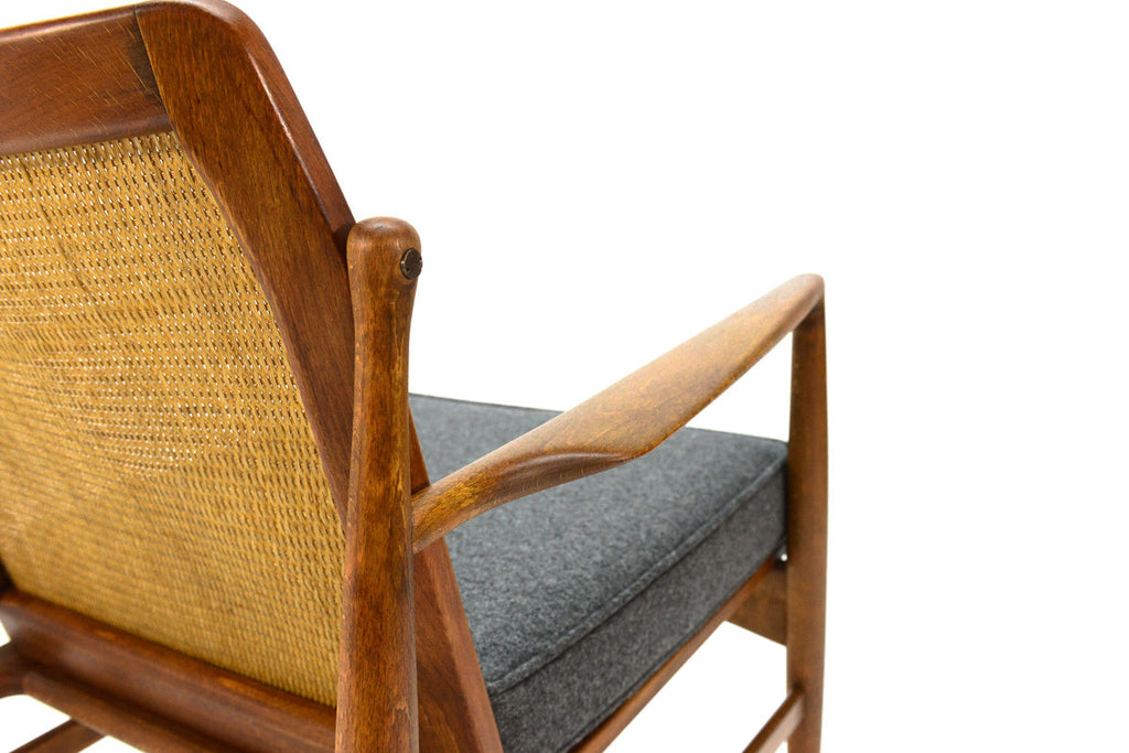 Cane Back Armchair by Kofod Larsen for Selig