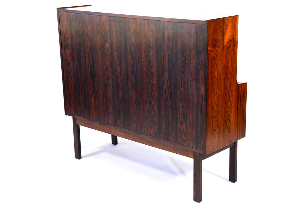 Large Rosewood Secretary Desk by Arne Wahl Iversen