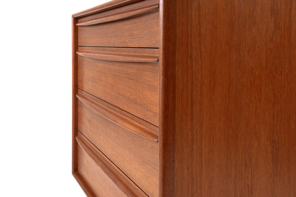 Teak Chest of Drawers by Svend Madsen for Falster