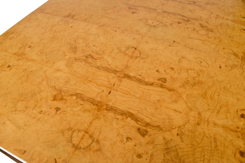 Milo Baughman For Thayer Coggin Burl Dining Table