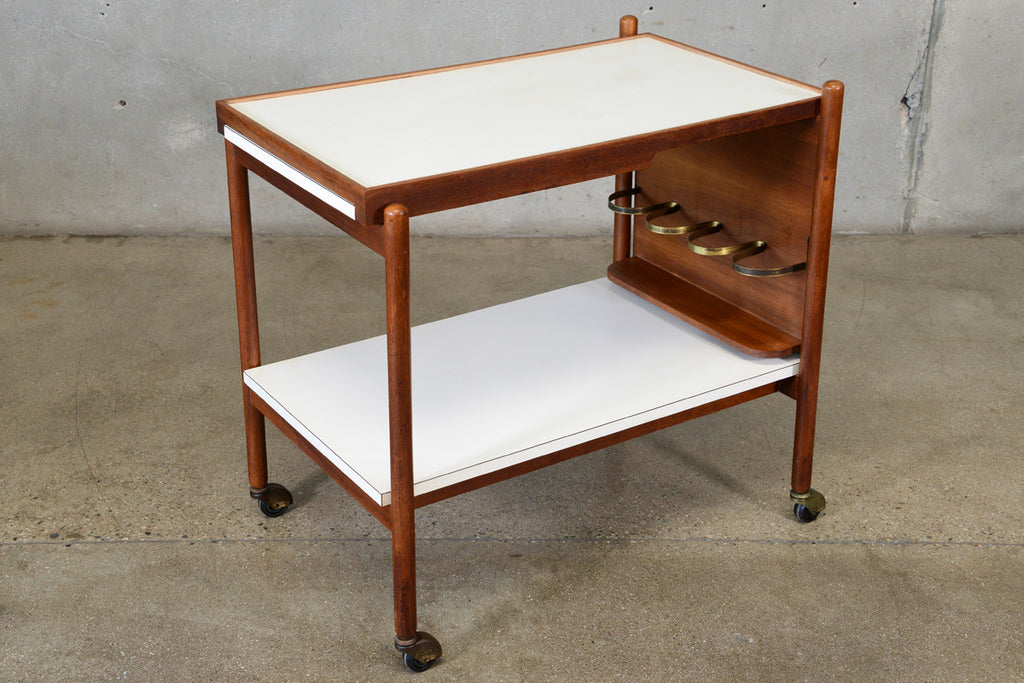 Rare Bar Cart by Greta Grossman for Glenn of California