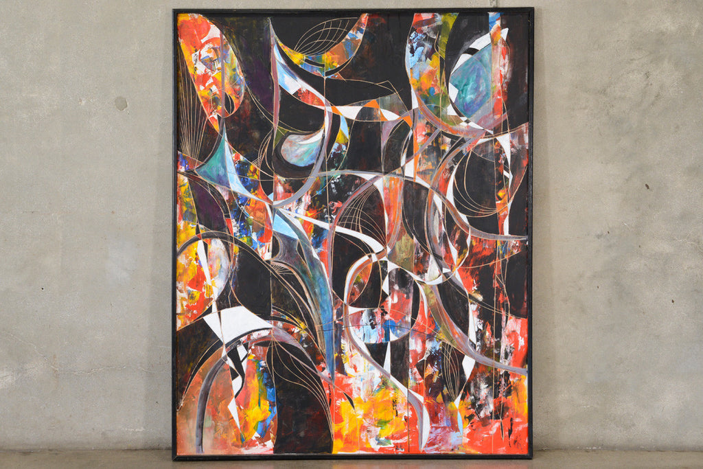 Large Abstract by George Mullen