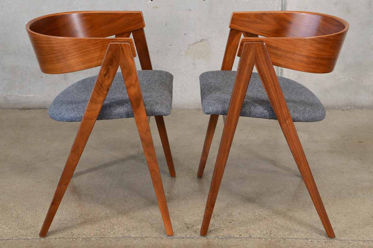 Pair Of Allan Gould Compass Chairs Arroyo Artifacts