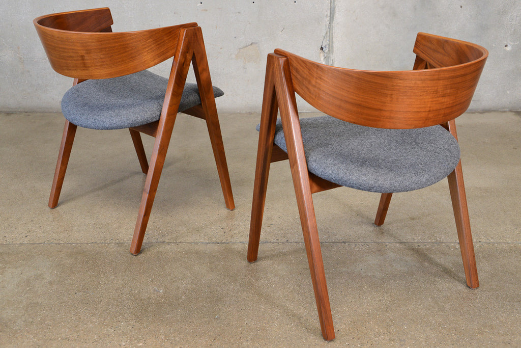 Pair of Allan Gould Compass Chairs