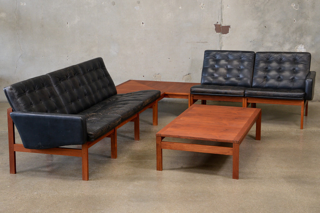 Moduline Living Room Set by Ole Gjerløv-Knudsen & Torben Lind for France and Son