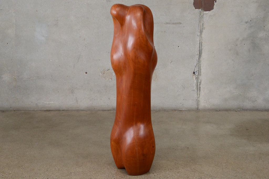 Carved Wood Sculpture by Istvan Toth