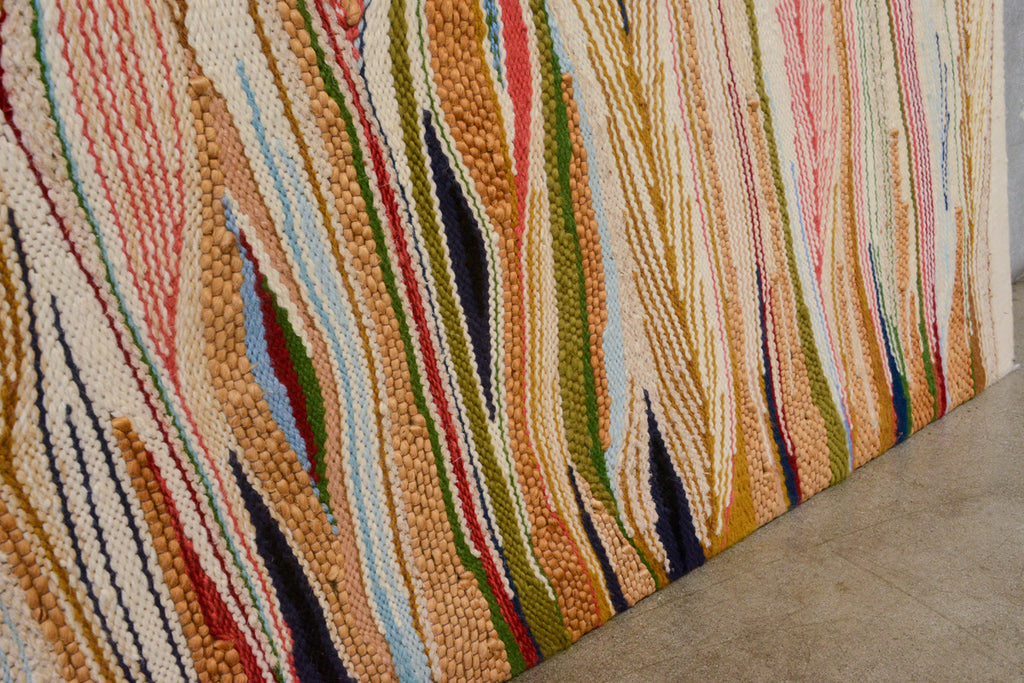 Monumental Woven Fiber Art Panel