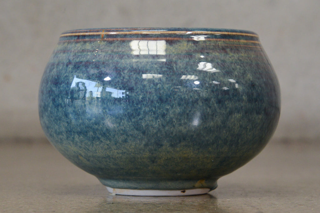Vivika and Otto Heino Blue Glazed Bowl