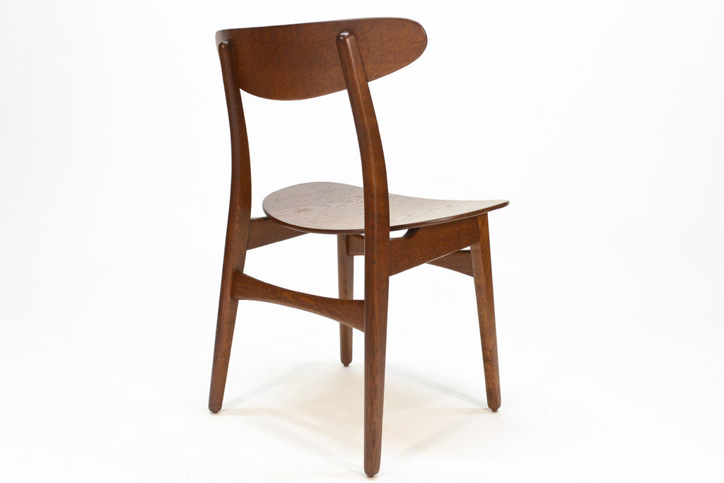 Set of Four Hans Wegner CH-30 Dining Chairs
