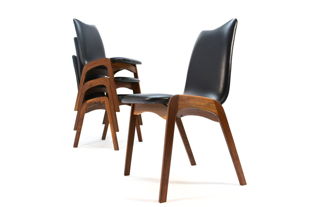 Set of Four Chet Beardsley Dining Chairs