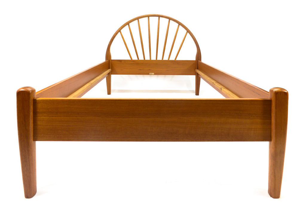 Danish Teak Twin Bed Frame by Jespersen