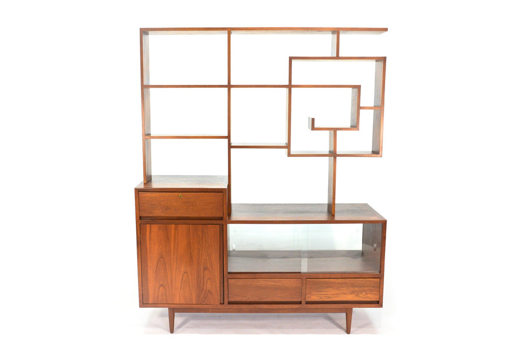 Incredible One of a Kind Room Divider / Credenza