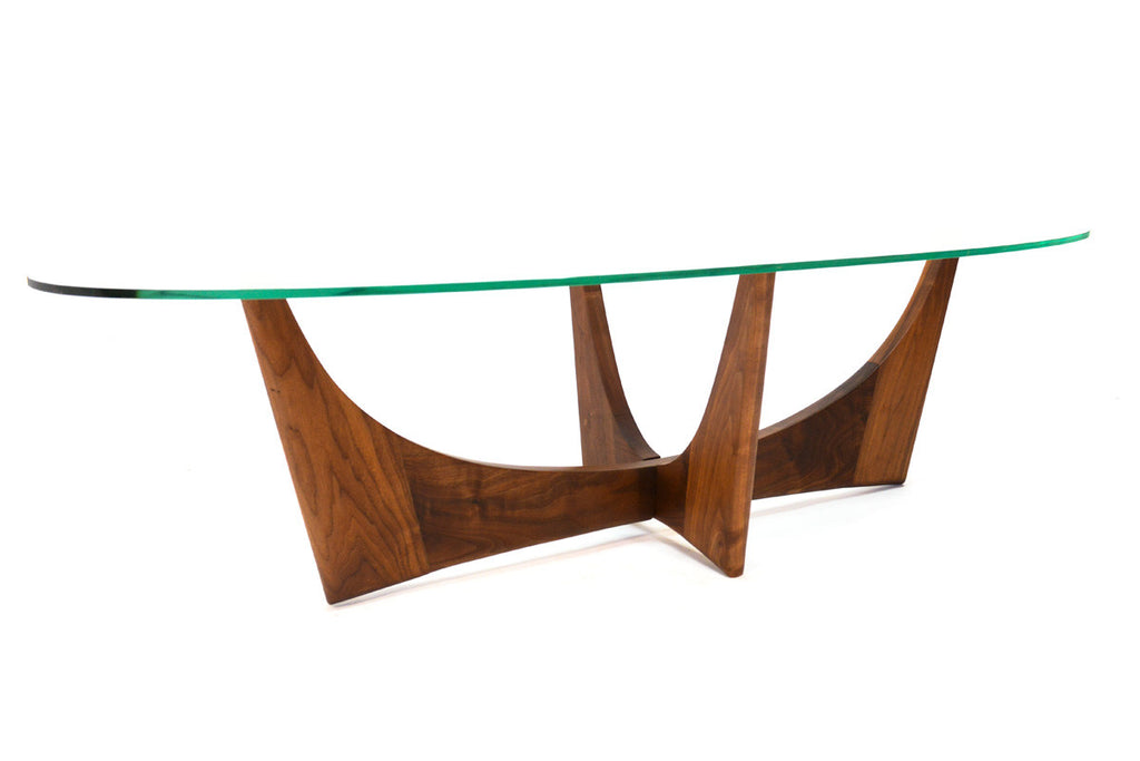 Adrian Pearsall Sculptural Walnut Coffee Table
