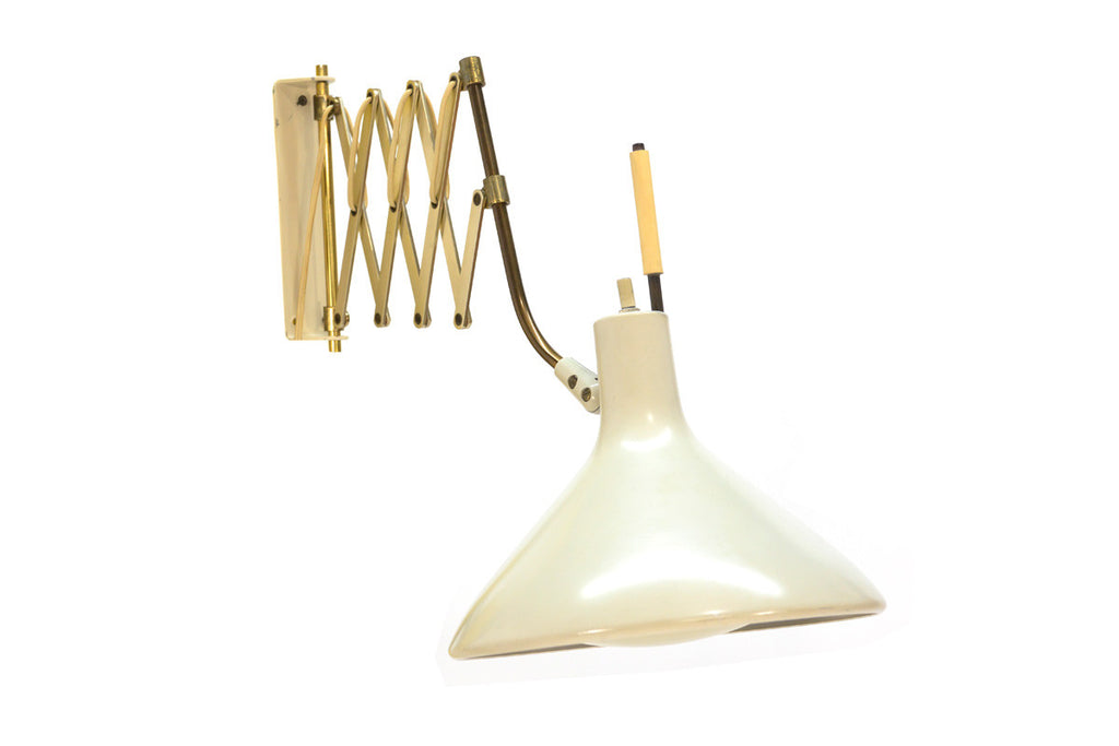 Adjustable Wall Lamp by Gerald Thurston for Lightolier