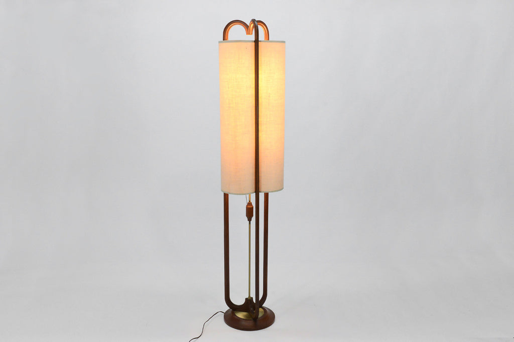 Large Sculptural Modeline Floor Lamp