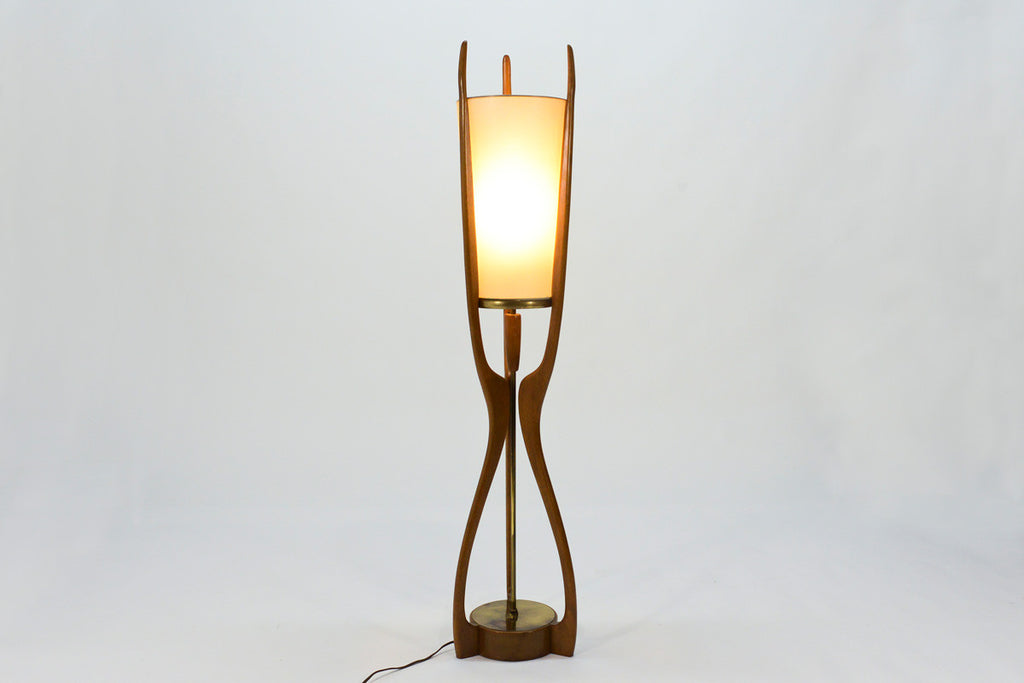 Large Sculptural Table Lamp by Modeline