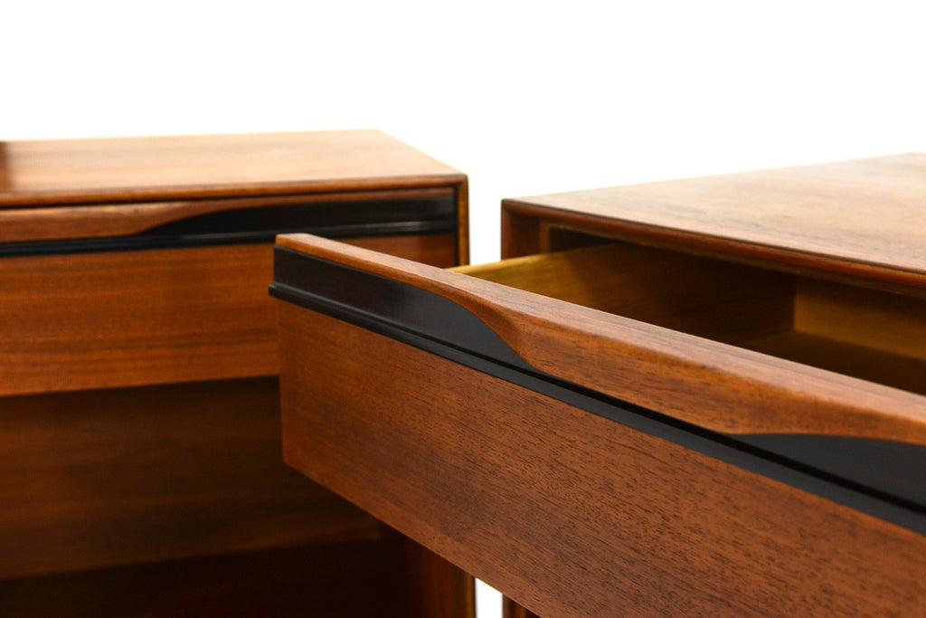 Pair of Nightstands by John Kapel for Glenn of California