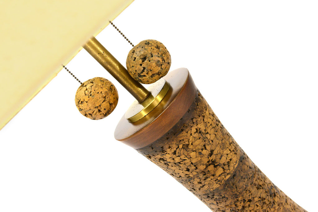 Massive Cork Floor Lamp