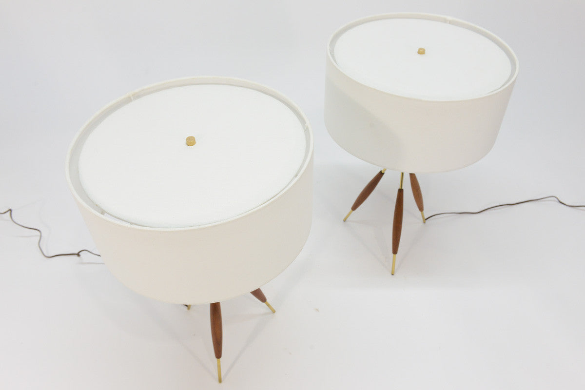 Pair of gerald thurston tripod table lamps arroyo artifacts pair of gerald thurston tripod table lamps geotapseo Image collections