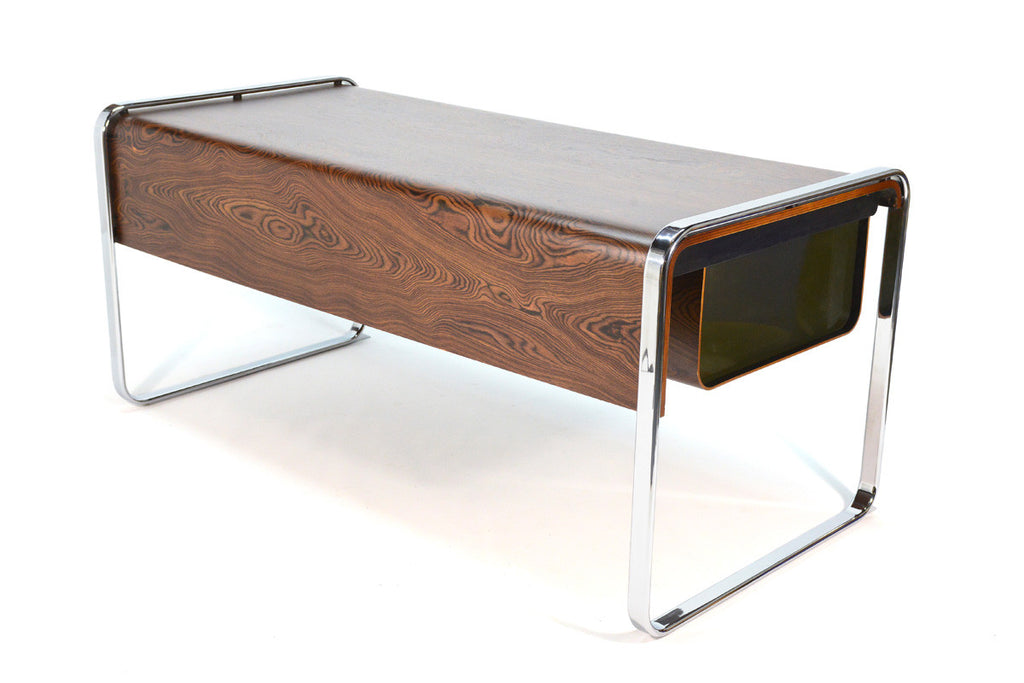 Zebrawood Desk by Peter Protzman for Herman MIller