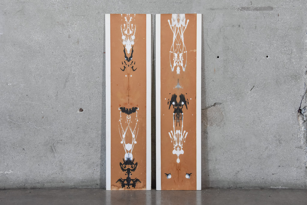 Pair of Rorschach Style Panels by Peter Pepper Products