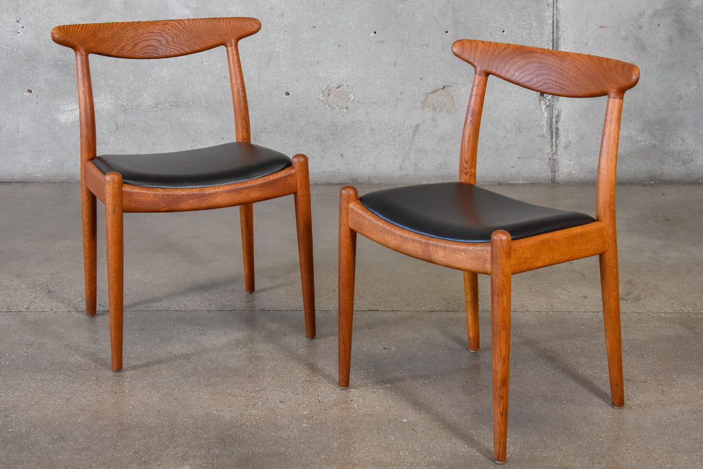 Set of Ten Hans Wegner for C.M. Madsens Dining Chairs