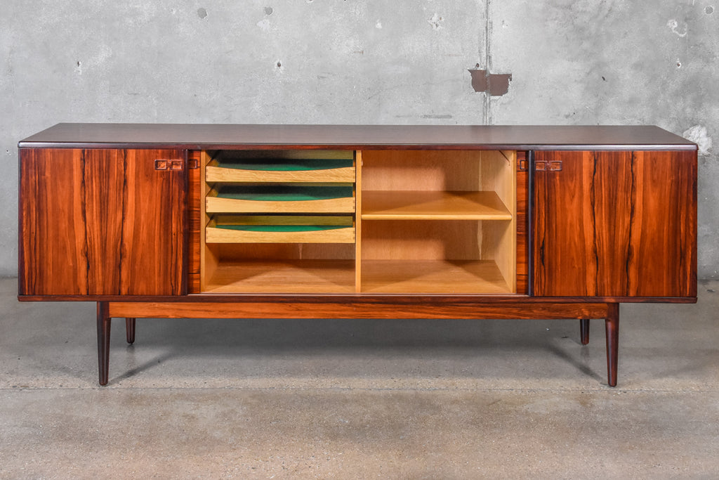 Large Rosewood Credenza by Christian Linneberg