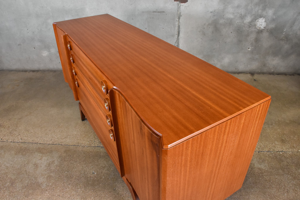 Mahogany Buffet by Gilbert Rohde for Brown Saltman