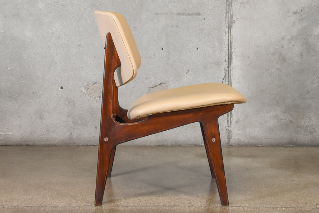 Armless Lounge Chair by Gunnar Sørlie