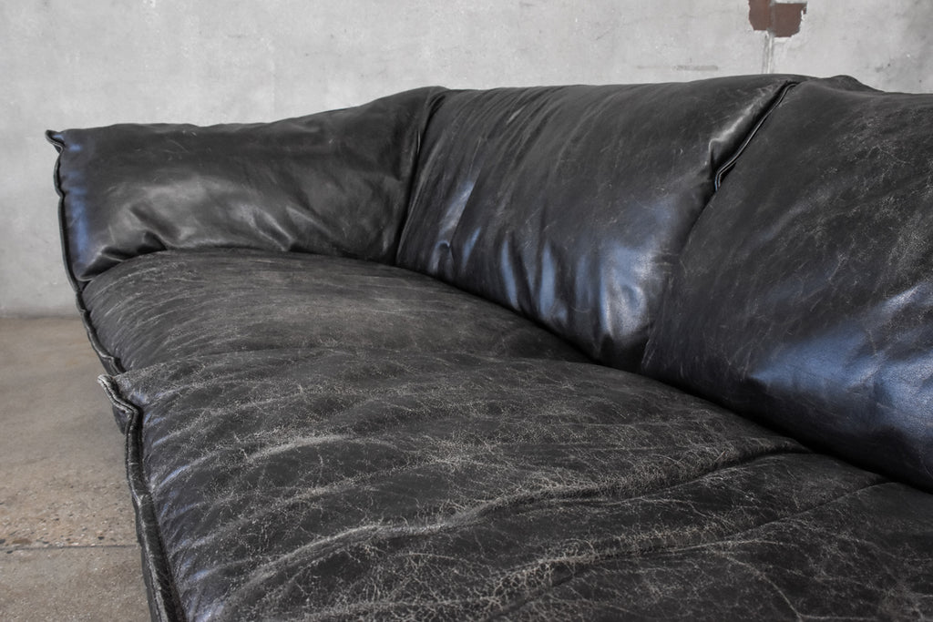 Leather 'Arizona' Sofa by Niels Eilersen