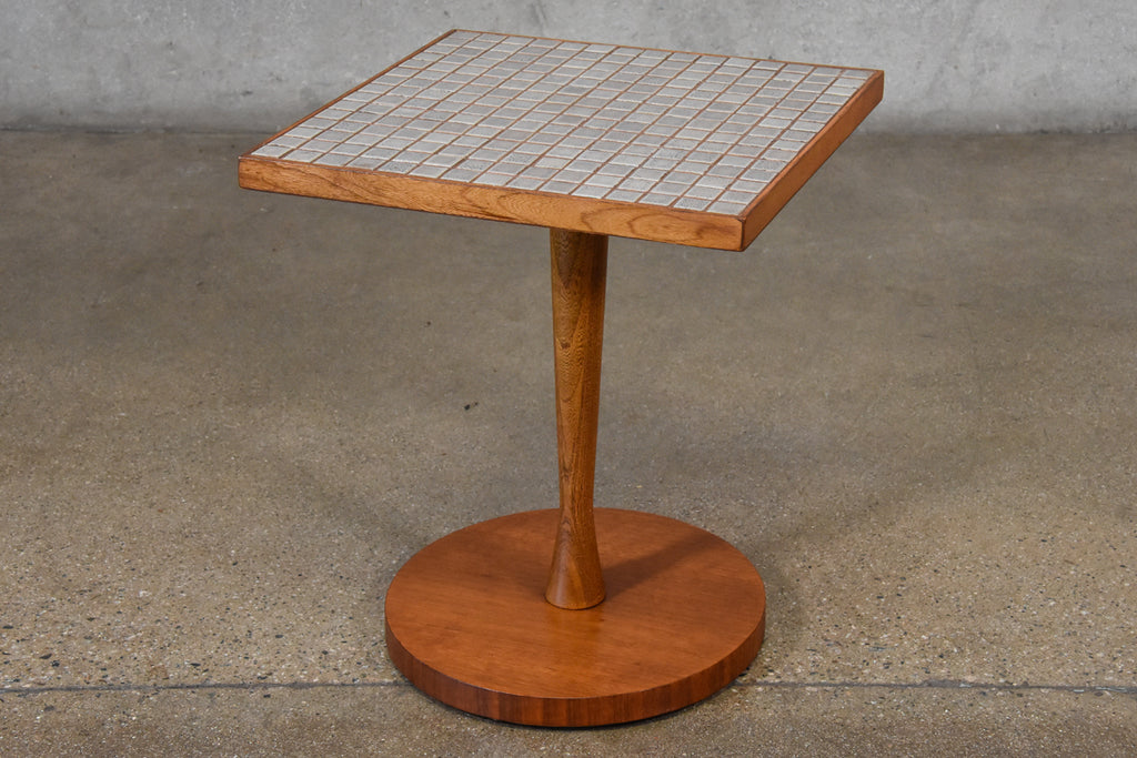 Title Top Pedestal Side Table by Lane