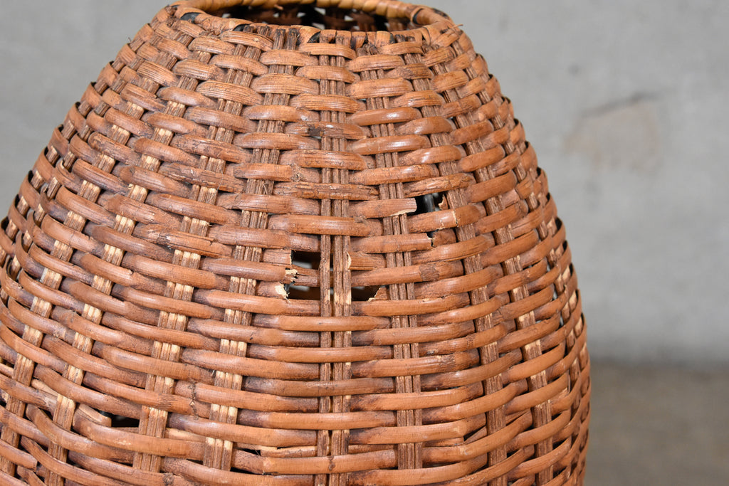 Paul Mayen Rattan Table Lamp