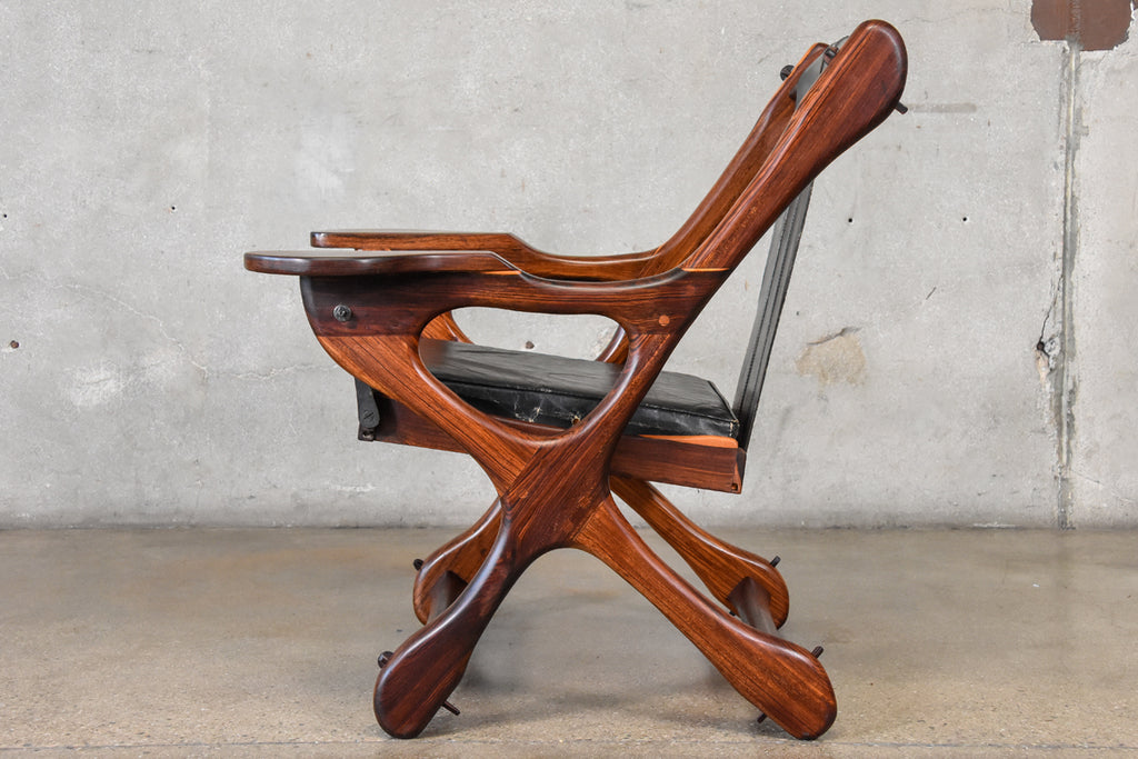 Rosewood Swinger Lounge Chair by Don Shoemaker