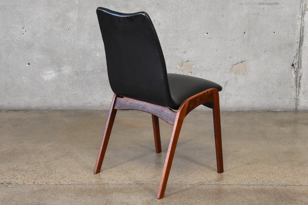 Chet Beardsley Walnut Desk Chair
