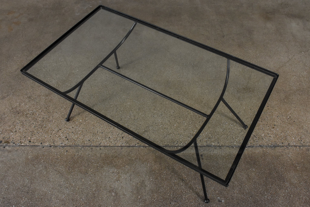 Frank and Son Iron and Glass Coffee Table