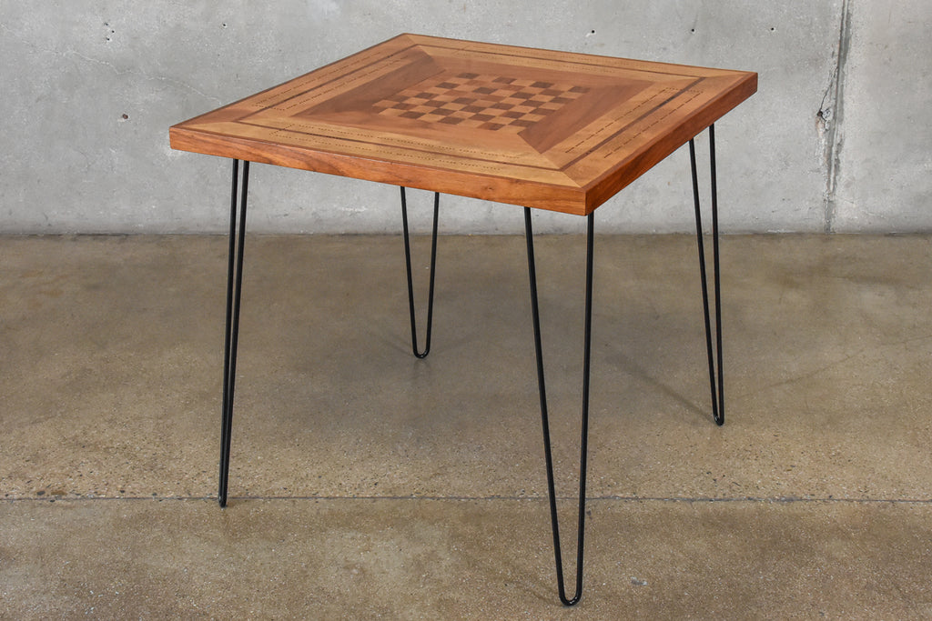 Hairpin Leg Game Table