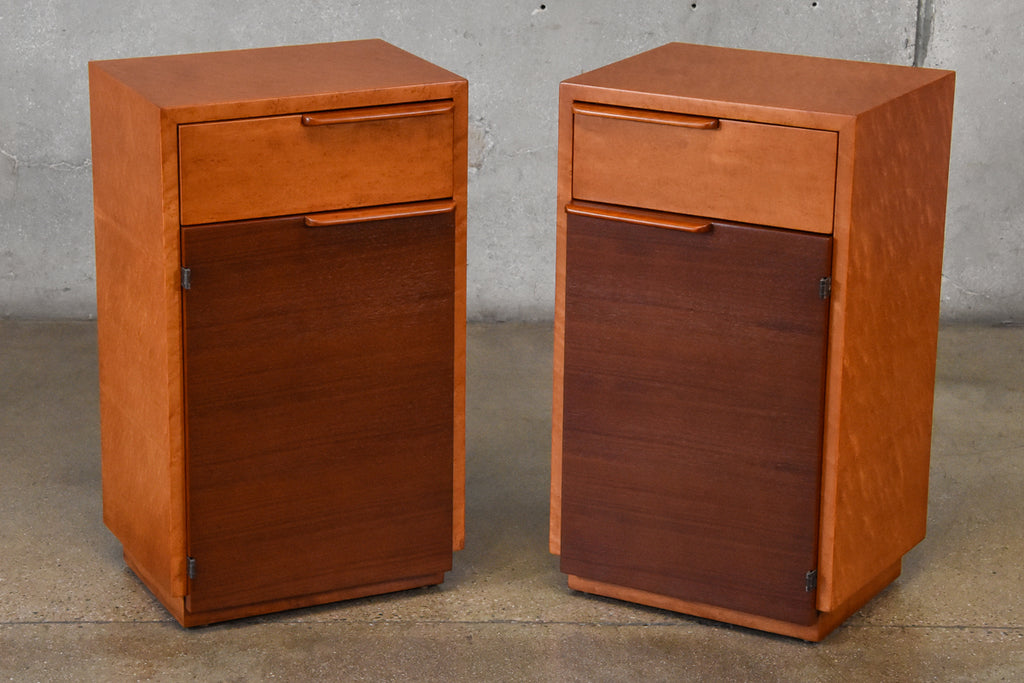 Pair of Nightstands by Gilbert Rohde for Herman Miller