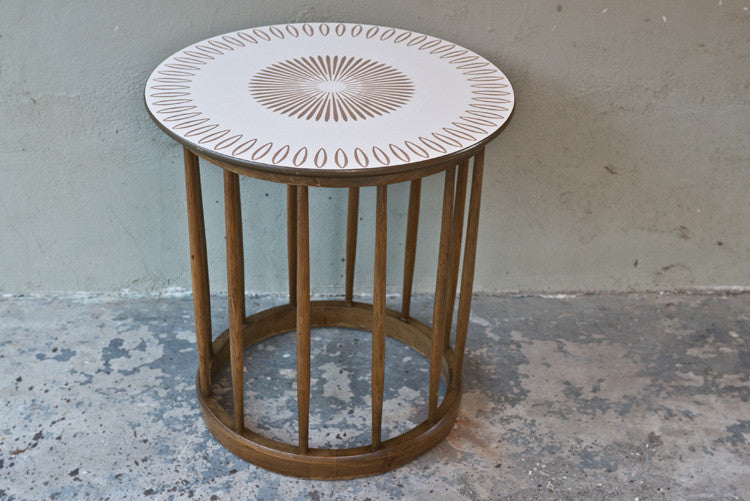 Drexel Parkwood 'Lamp Table' by John Van Koert