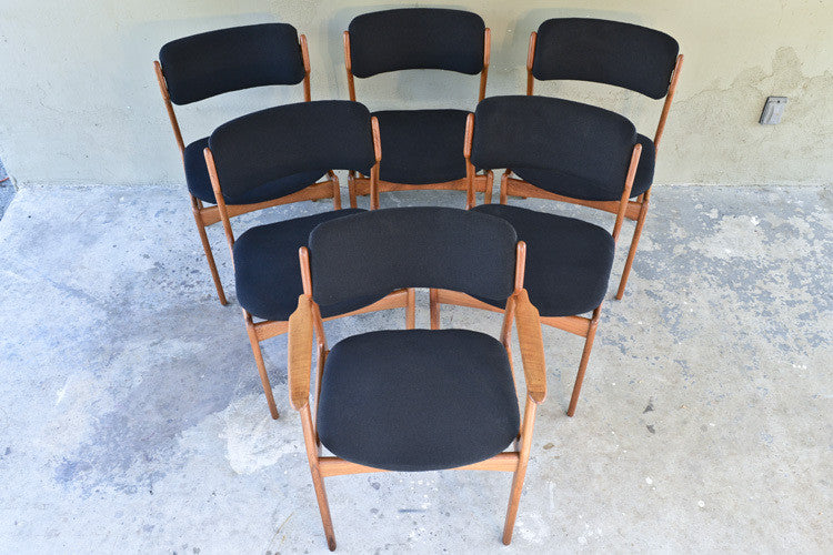 Set of Six Eric Buck Dining Chairs