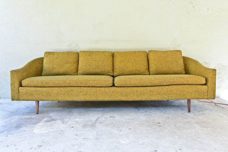 Incredible all Original Milo Baughman for Thayer Coggin Sofa