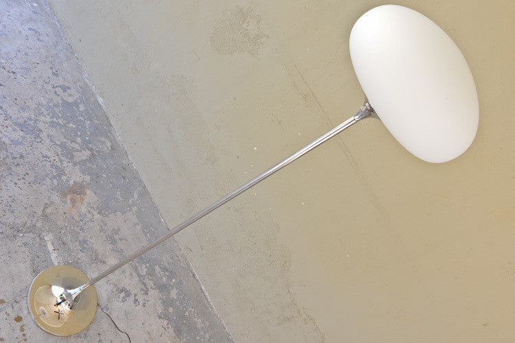Laurel Chrome Tulip Floor Lamp