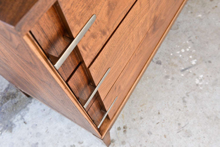 Beautiful Basic Witz Walnut Dresser