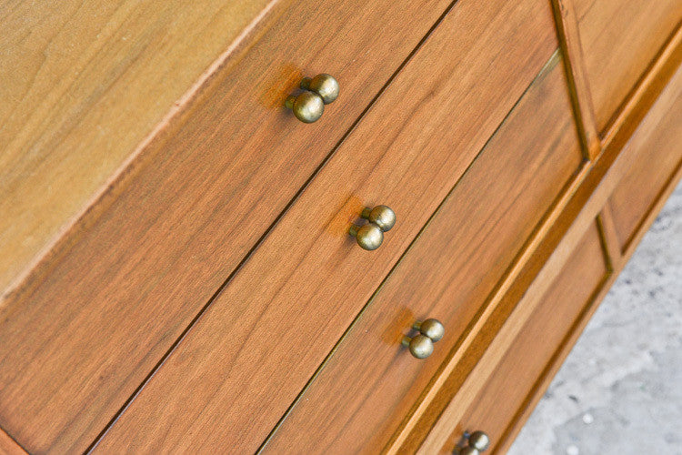 Mount Airy 12 Drawer Walnut Dresser