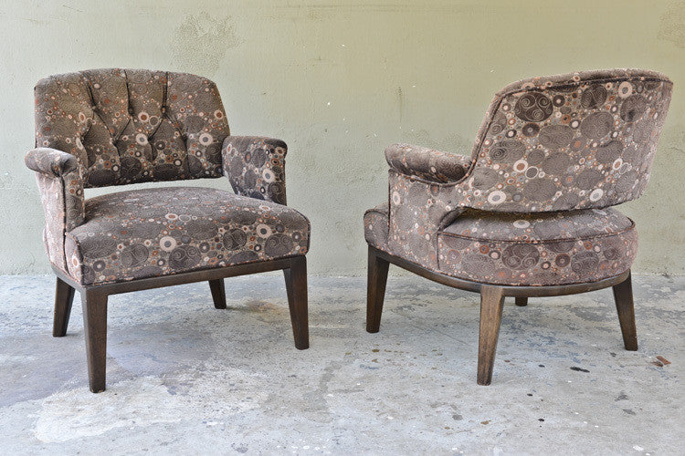 Pair of Monteverdi-Young Lounge Chairs