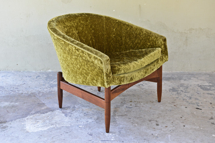 'Floating' Club Chair by Lawrence Peabody